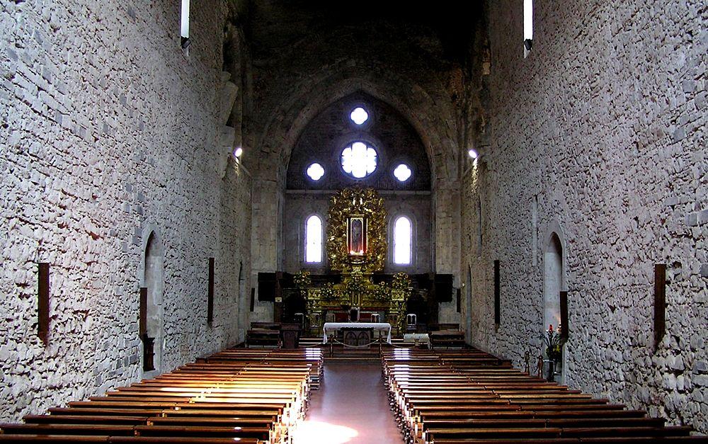 Interno della Abbazia Florense, San Giovanni in Fiore (Cosenza) - Image source