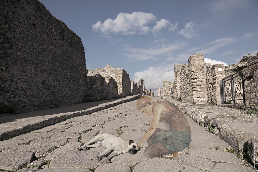 Fantasmi a Pompei: una delle opere in mostra
