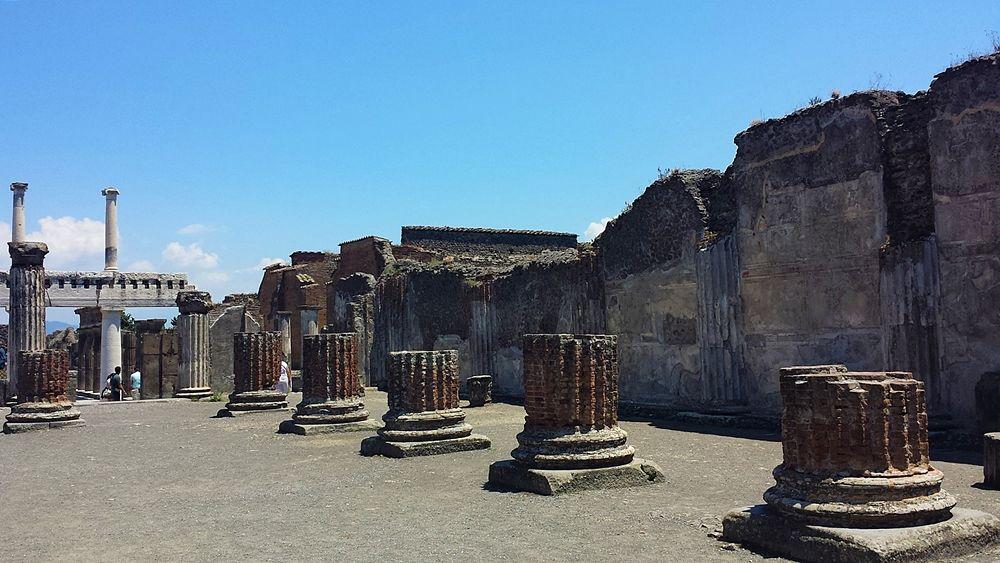 Scorcio del Foro di Pompei