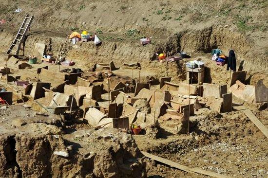 Scorcio della necropoli di Himera - Fonte: Soprintendenza Archeologica Palermo