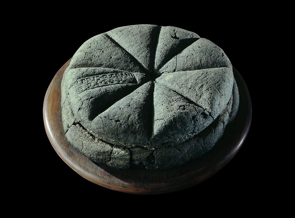 Pane carbonizzato da Pompei