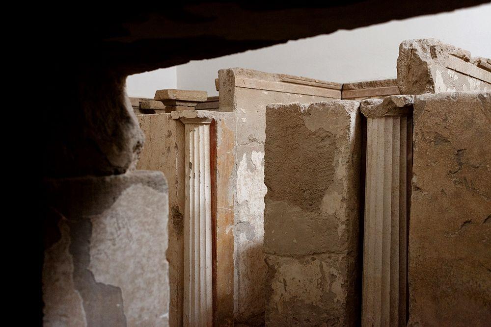 Scorcio della Tomba a quattro camere di via Pasubio, Taranto
