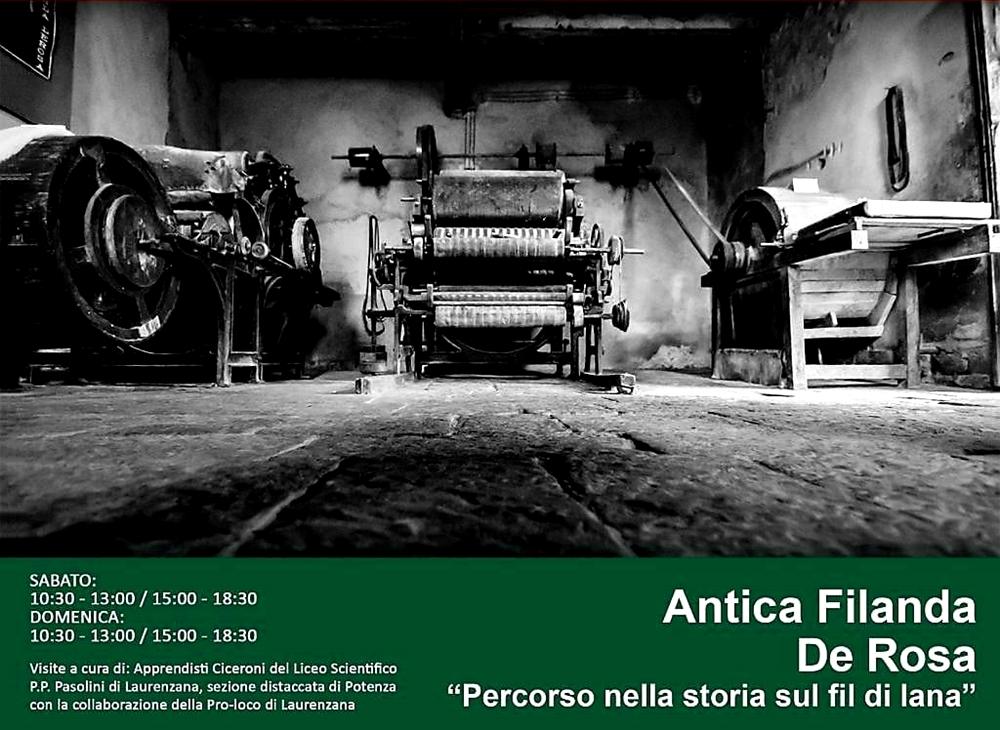 "Antica Filanda ""De Rosa"" (Laurenzana, 23-24 Marzo 2019)"