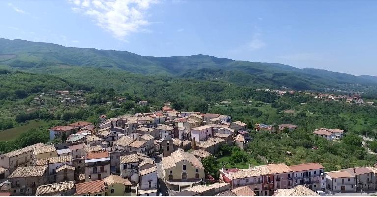 Scorcio del borgo di Vaccarizzo di Montalto Uffugo (Cosenza)