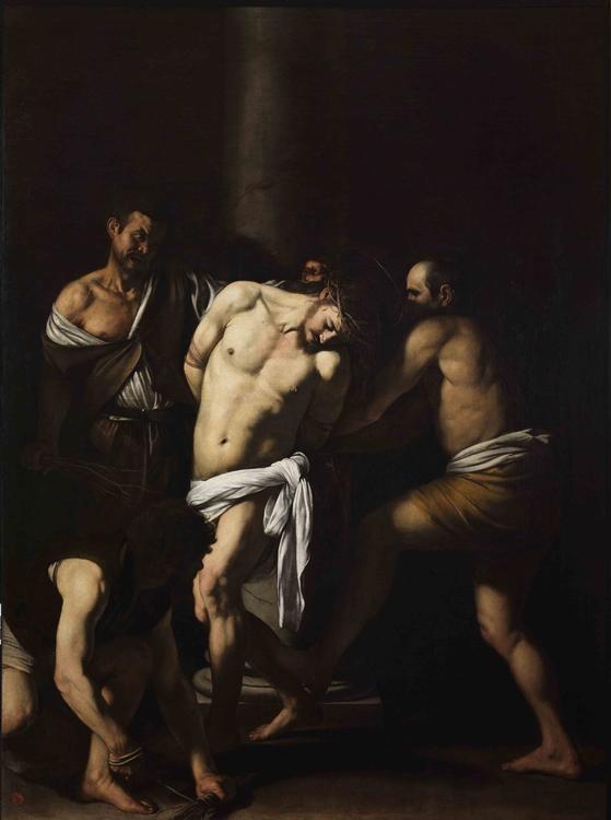 Michelangelo Merisi da Caravaggio, Flagellazione di Cristo, 1607-1608, Museo Nazionale di Capodimonte, Napoli