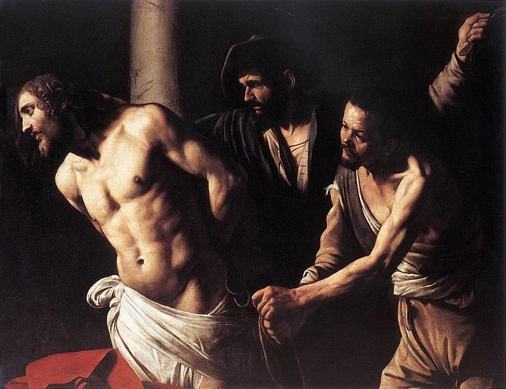 Caravaggio, Flagellazione, Musée des Beaux-Arts, Rouen