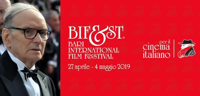 Ennio Morricone (foto di Georges Biard) protagonsita del Bif&st (Bari, 27 Aprile - 4 Maggio 2019)