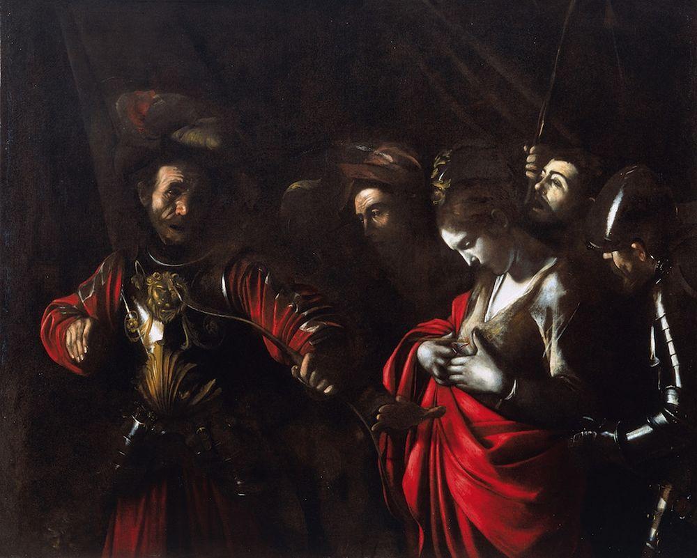 Caravaggio, Martirio di Sant'Orsola, 1610, Palazzo Zevallos Stigliano, Napoli