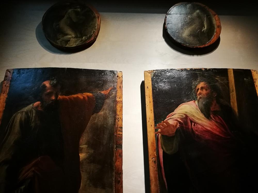 Alcune opere di Polidoro da Caravaggio - Ph. © Angela Capurso