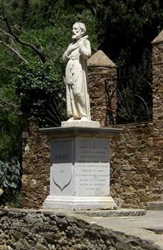 Statua di S. Francesco di Paola a Bormes-les-Mimosas - Ph. Richard Gertis