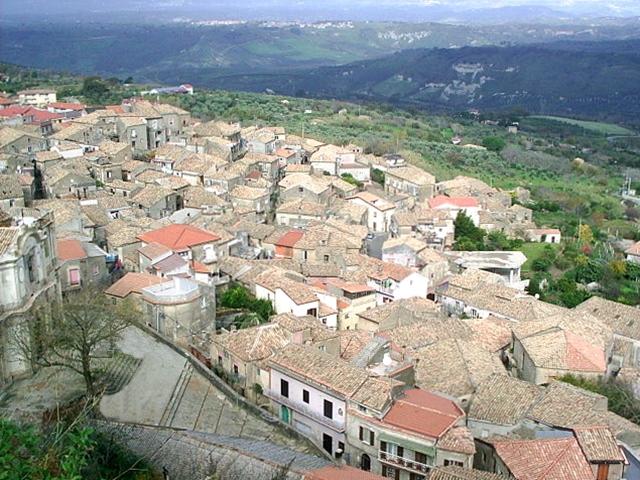 Scorcio del borgo di Cortale (Catanzaro)