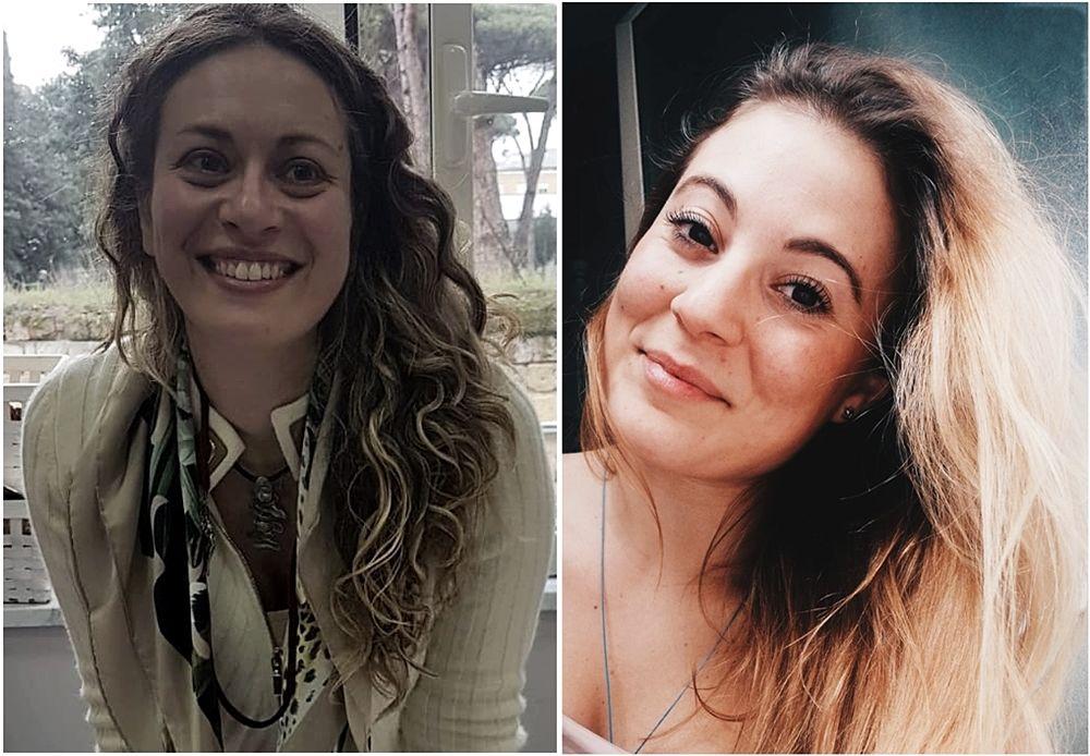 Le ingegnere Michela D'Antò e Federica Caracò