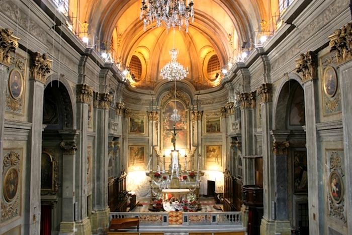 Chiesa di S. Francesco di Paola a Nizza, XVIII sec.