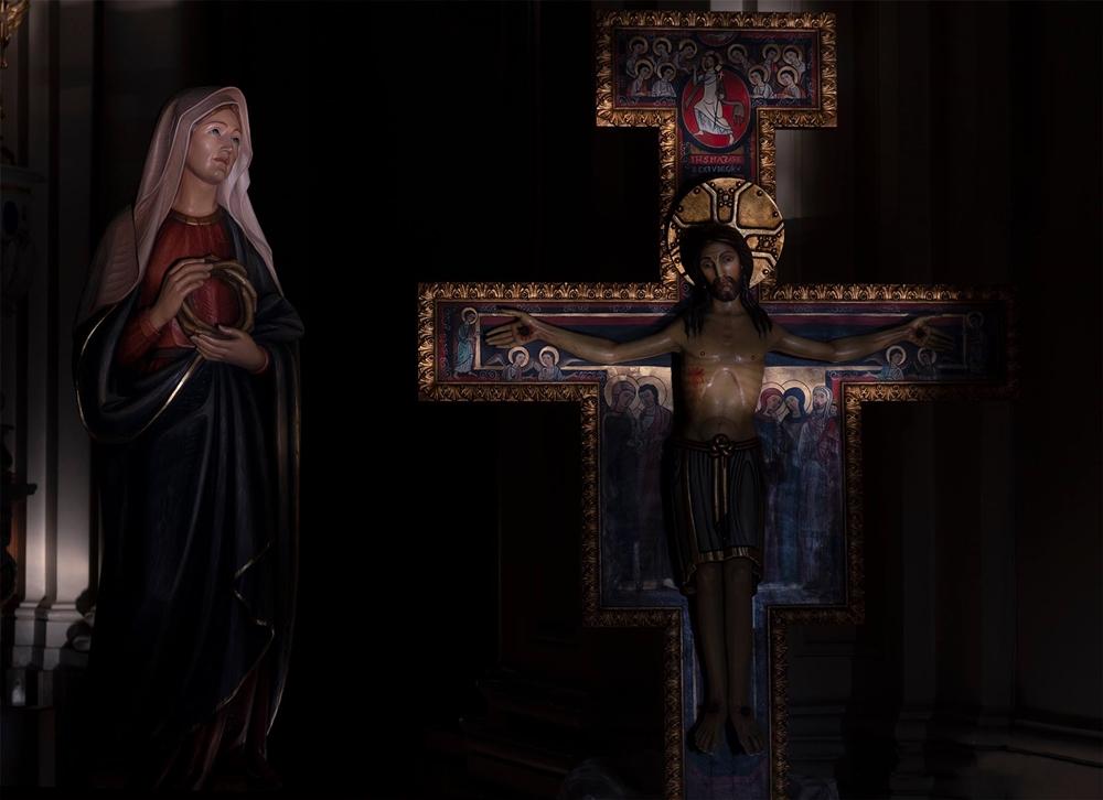 Venerdì Santo nella Chiesa dell'Annunziata, Acri (Cs) - Ph. © Francesco Cariati