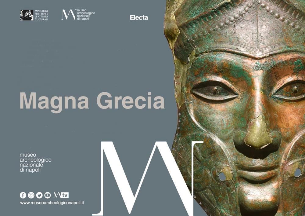 Sezione Magna Grecia (Museo Archeologico di Napoli, opening 11 luglio 2019)