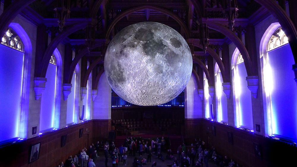 Luke Jerram, Museum of the Moon, University of Bristol, UK