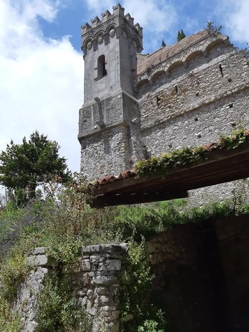 I resti del Castello di Catanzaro