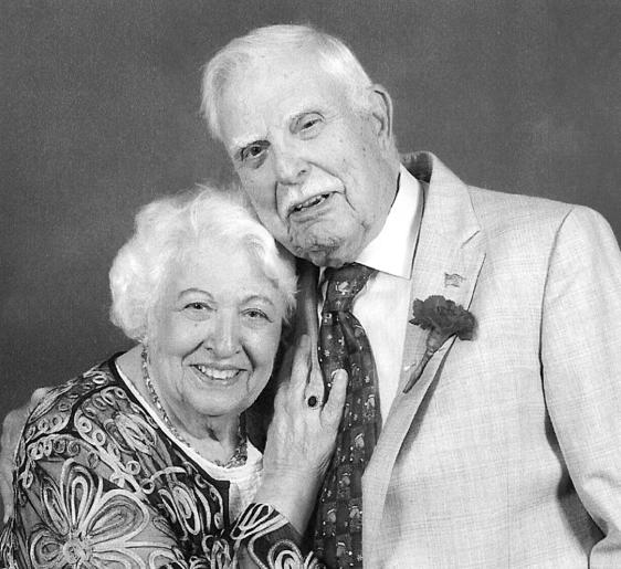 Dario Antonucci con sua moglie Annette