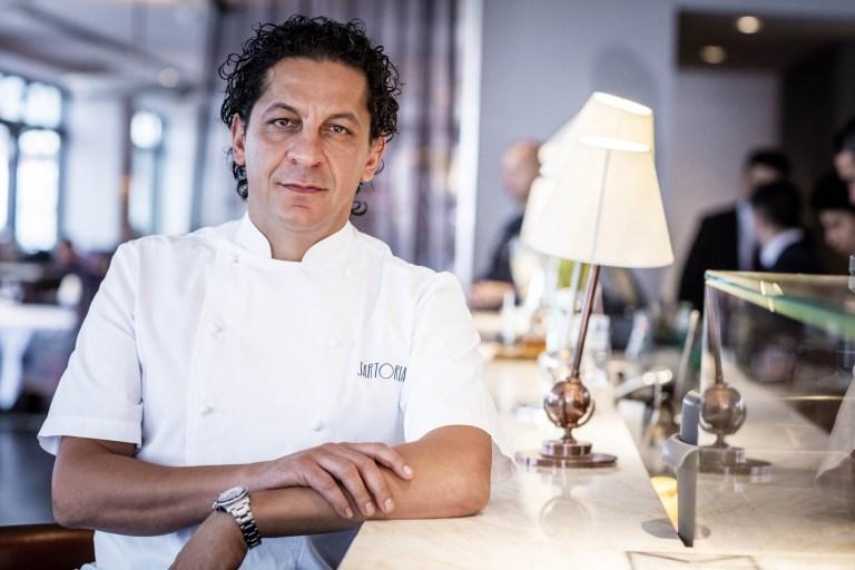 Lo chef Francesco Mazzei