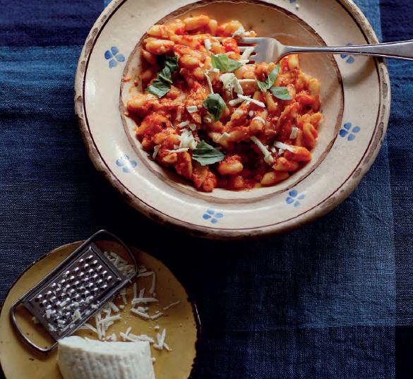 Cavatelli, salsa di pomodori e ricotta stagionata - Image by Cheffrancescomazzei
