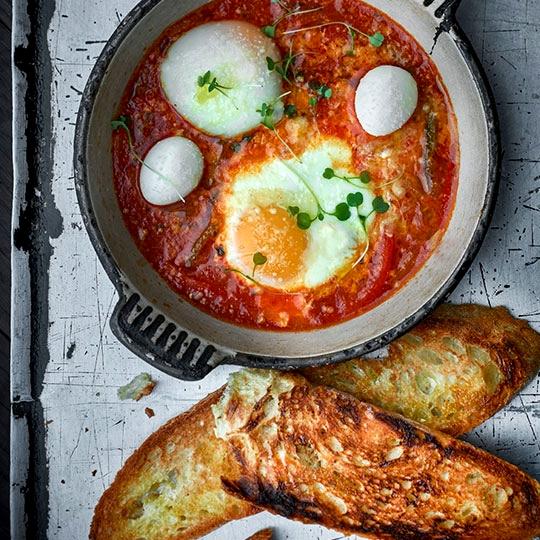 Uova in Purgatorio - image by Cheffrancescomazzei