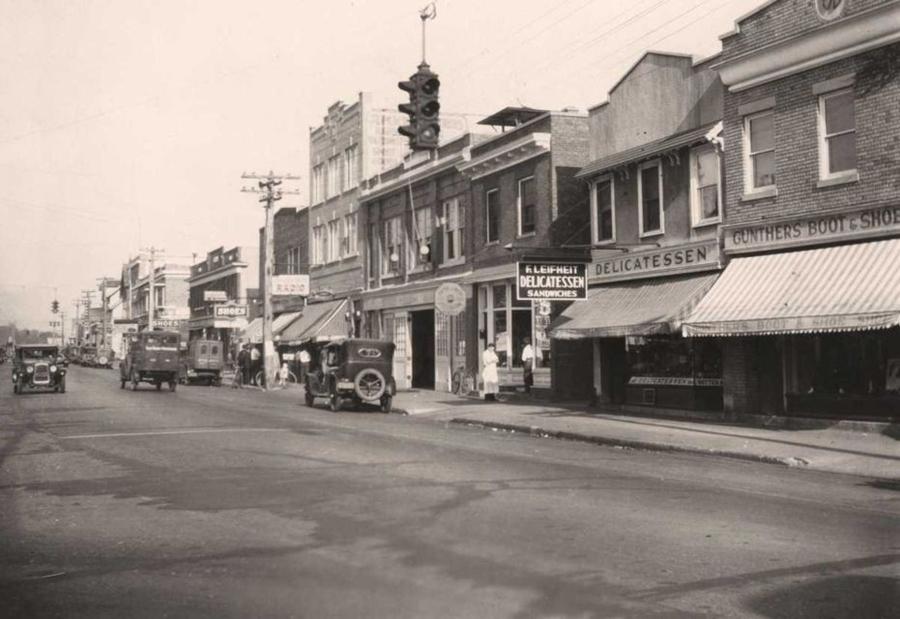 Scorcio di Long island negli anni '20