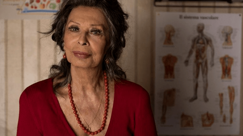 Sophia Loren sul set del nuovo film 'La vita davanti a sè' (2019)