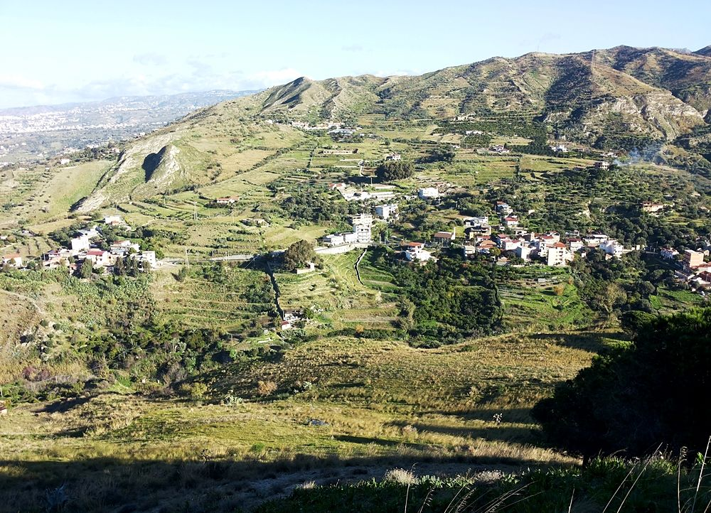 Le colline di S. Filippo di Pellaro (Reggio Calabria)