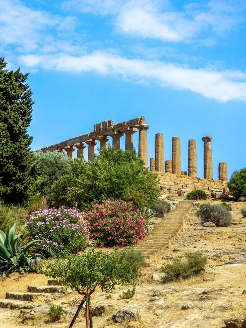 Scorcio del Tempio di Hera, Valle dei Templi, Agrigento