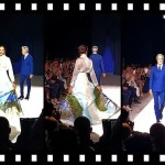 Napoli dipinta da Maristella De Giuseppe su un abito di Angela Barone incanta Verona