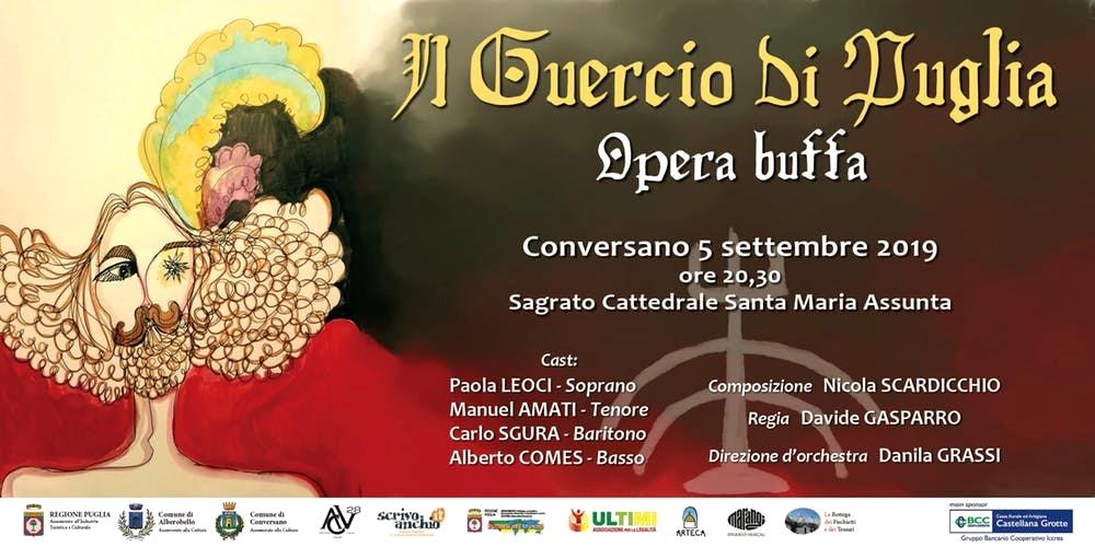 Il Guercio di Puglia (Alberobello, 1 Settembre - Conversano, 5 Settembre)