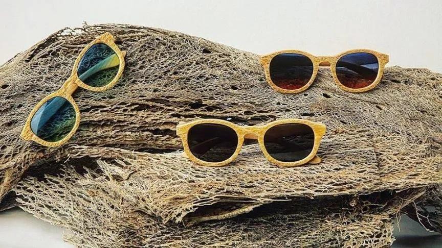 Gli occhiali creati da Cristian Ferilli e la fibra di fico d'India