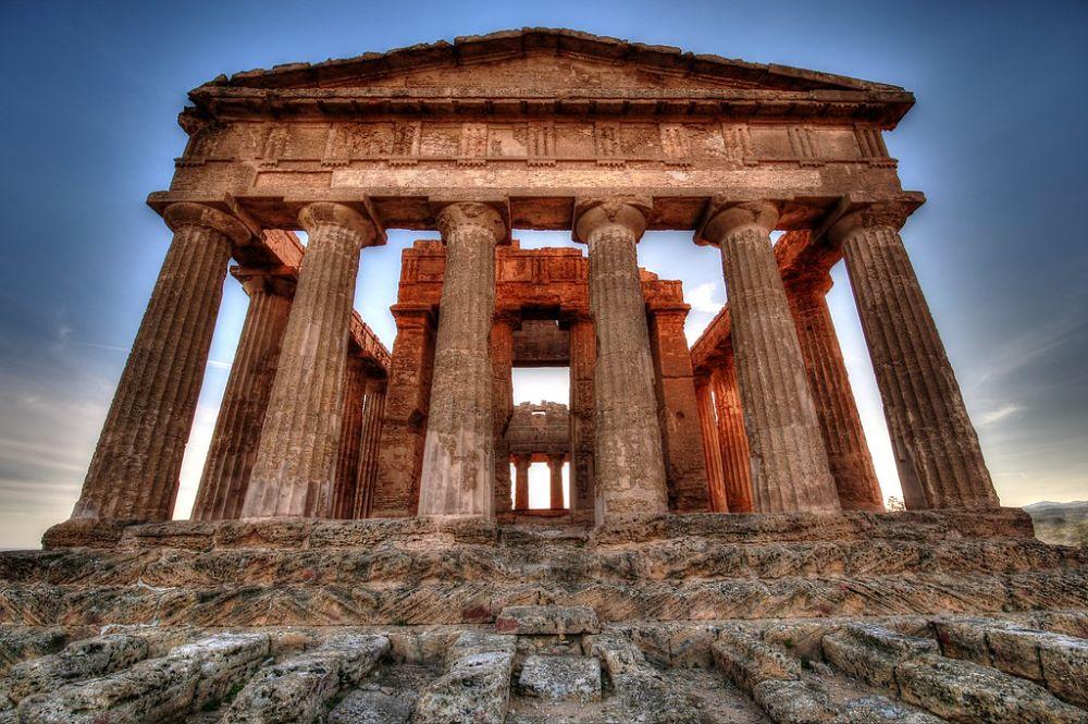 Tempio della Concordia, Valle dei Templi, Agrigento - Ph. Enrico Strocchi   ccby-sa2.0