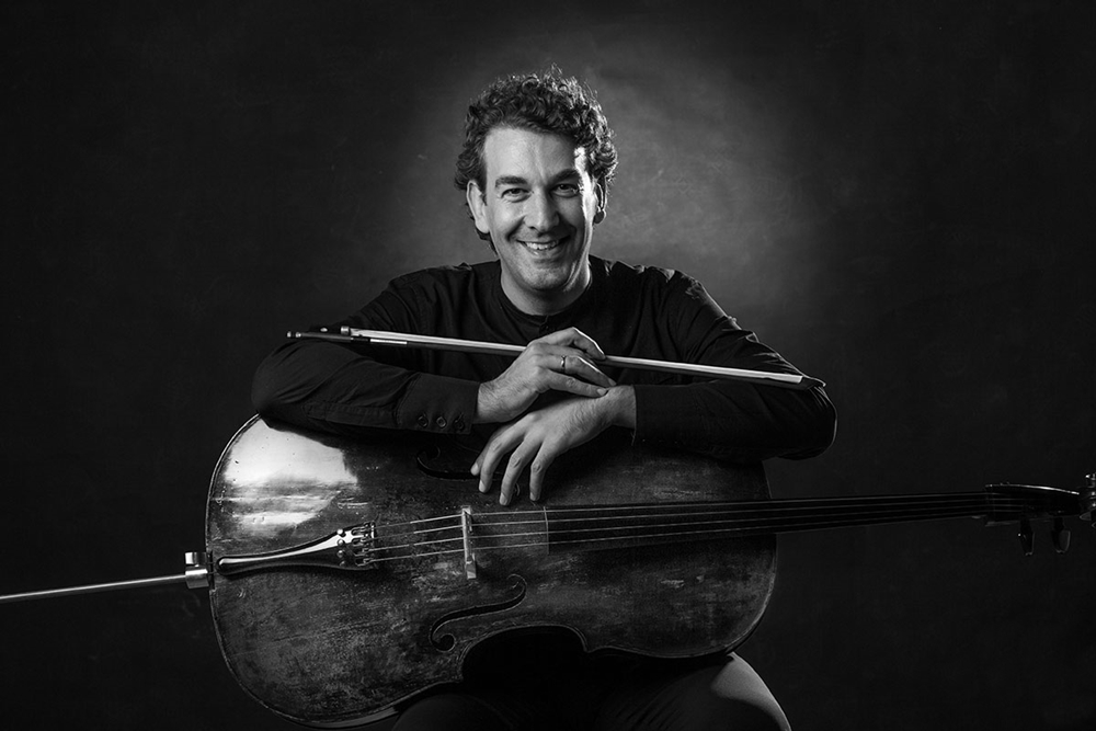 Il violoncellista Luciano Tarantino - Ph. Giuseppe Tangorra