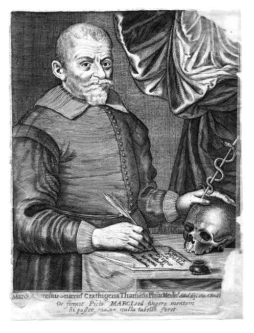 Marco Aurelio Severino, medico-chirurgo, XVII sec.