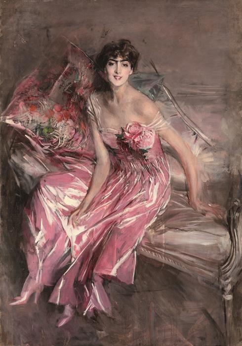 Giovanni Boldini, La signora in rosa (Olivia Concha de Fontecilla), 1916, Ferrara, Museo Giovanni Boldini