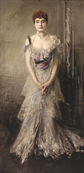 Giovanni Boldini, Ritratto dell'Infanta Eulalia di Spagna, 1898. Olio su tela, Ferrara, Museo Giovanni Boldini