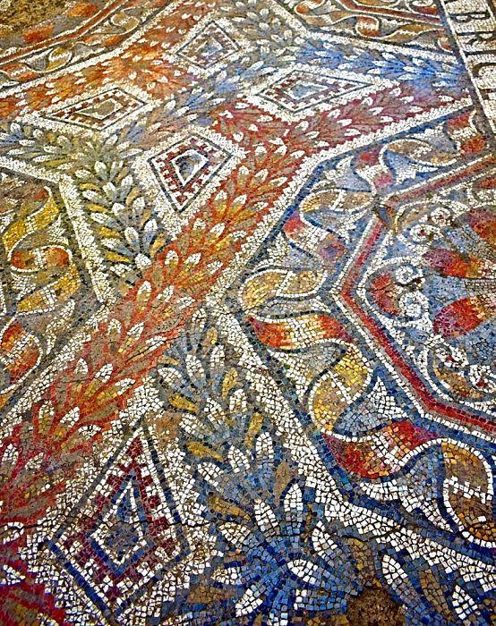Part. dei mosaici della Villa di c.da Gerace, Enna, IV sec. d.C.
