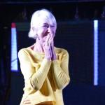 Amazing Mirren! A Trani l'attrice fra bellezza, cinema, impegno e commozione per gli ulivi del Salento