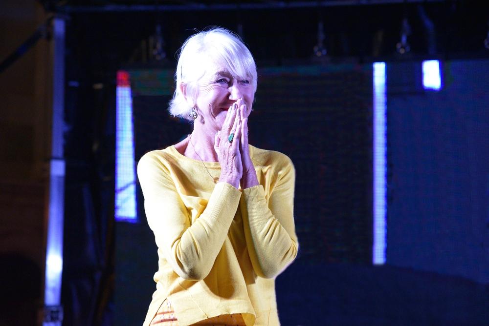"""L'attrice Helen Mirren ospite de """"I Dialoghi di Trani"""""""