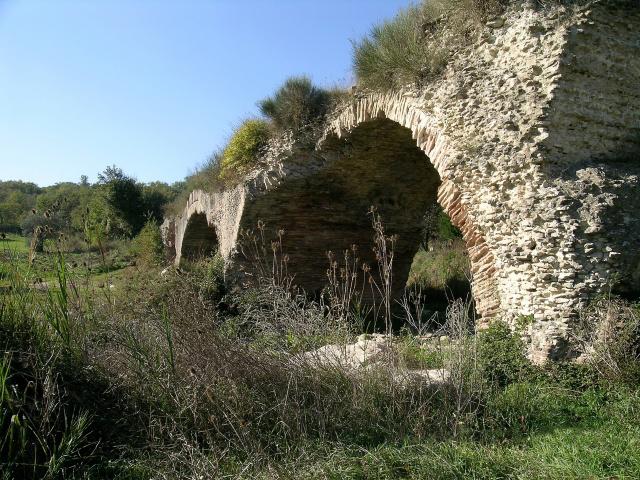 Scorcio del Ponte romano delle Chianche, Buonalbergo (Benevento) - Ph. Fiore Silvestro Barbato