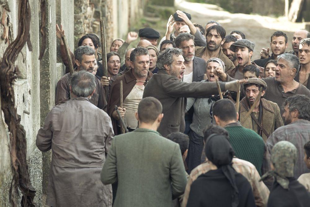 Francesco Colella (Peppe) in una scena di Aspromonte - La terra degli ultimi - Ph. Nazareno Migliaccio Spina