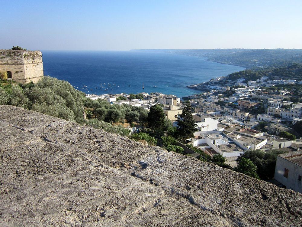 Vista dell'Adriatico da Castro (Lecce)