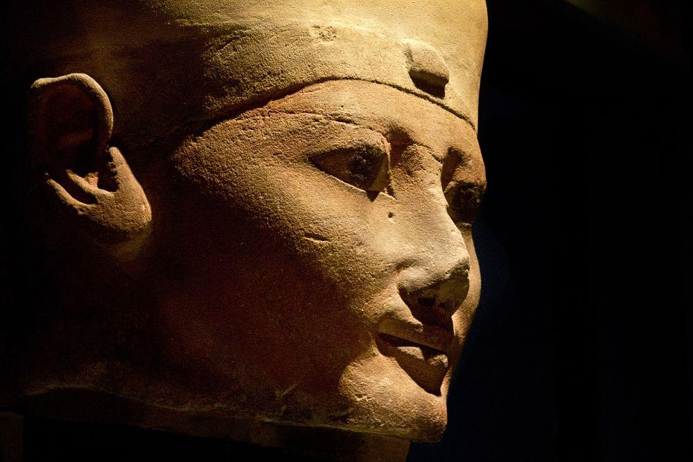 Testa di faraone, Museo Egizio Torino