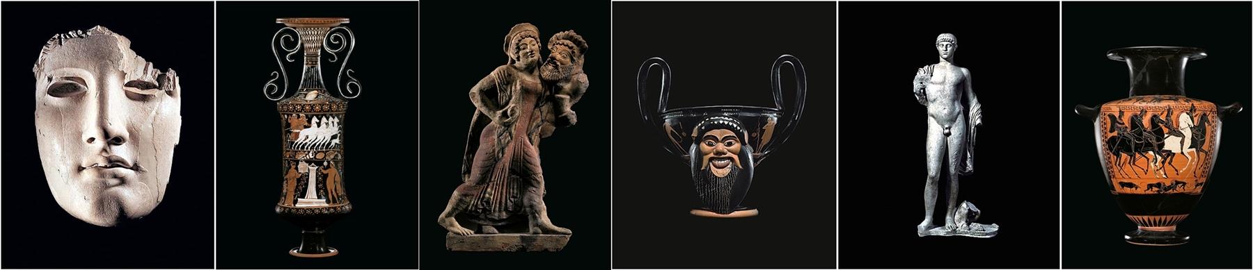Alcuni dei capolavori riportati in Italia da Maurizio Fiorilli