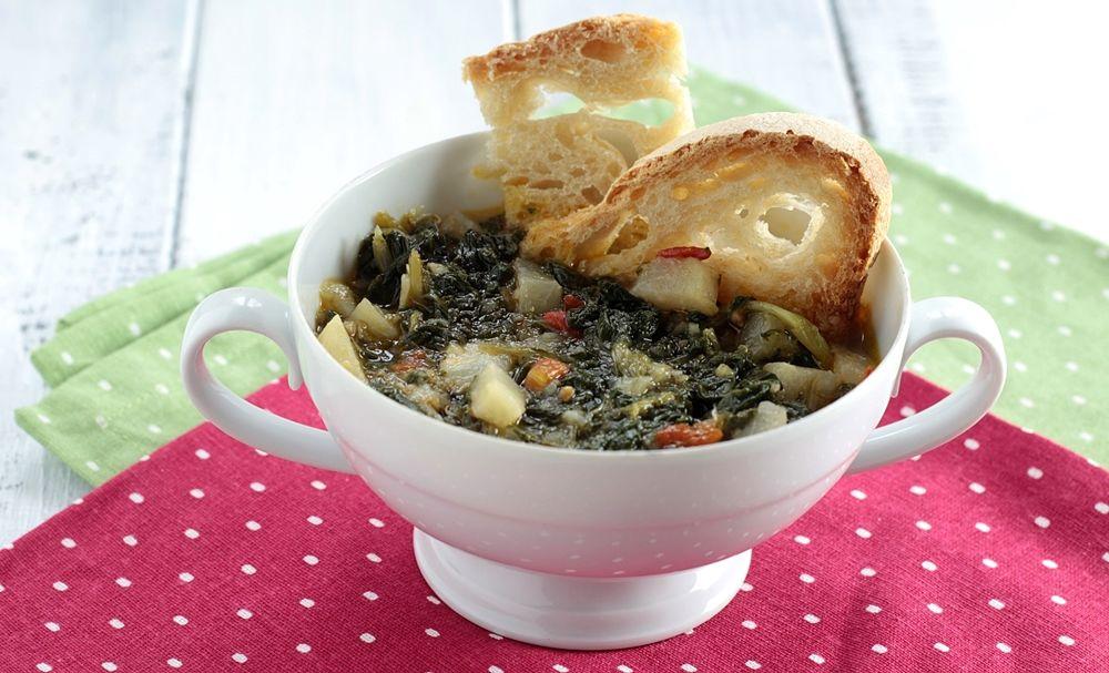 Zuppa di bietole e zucchine spinose - Ph. Anna Laura Mattesini