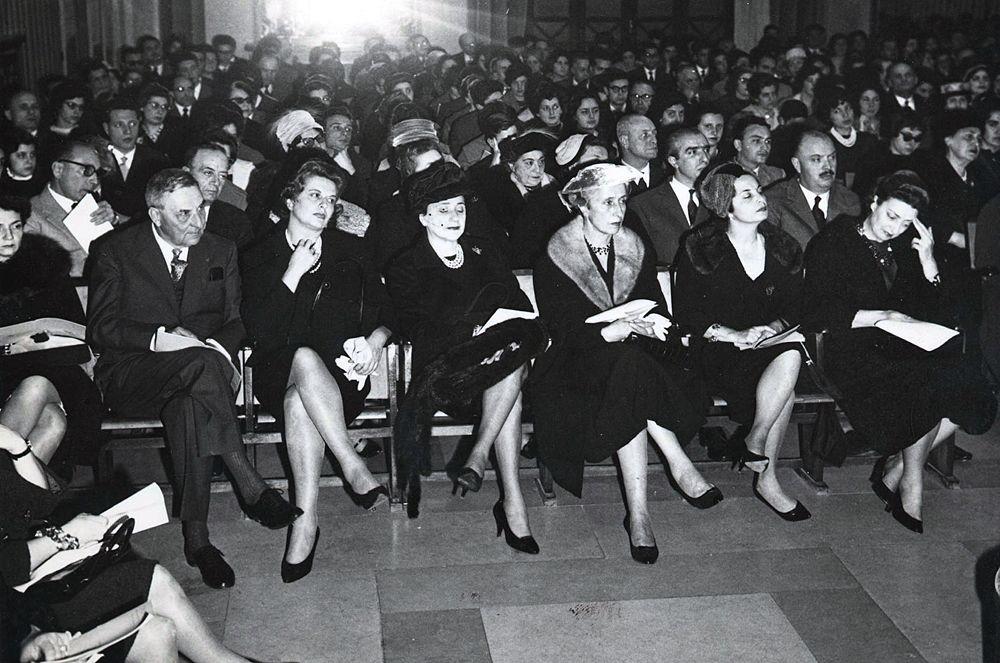 Immagine d'epoca di un concerto - © Archivio Storico Ass. 'Arcangelo Speranza'