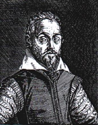 Ritratto del medico Joseph Du Chesne, XVI sec.