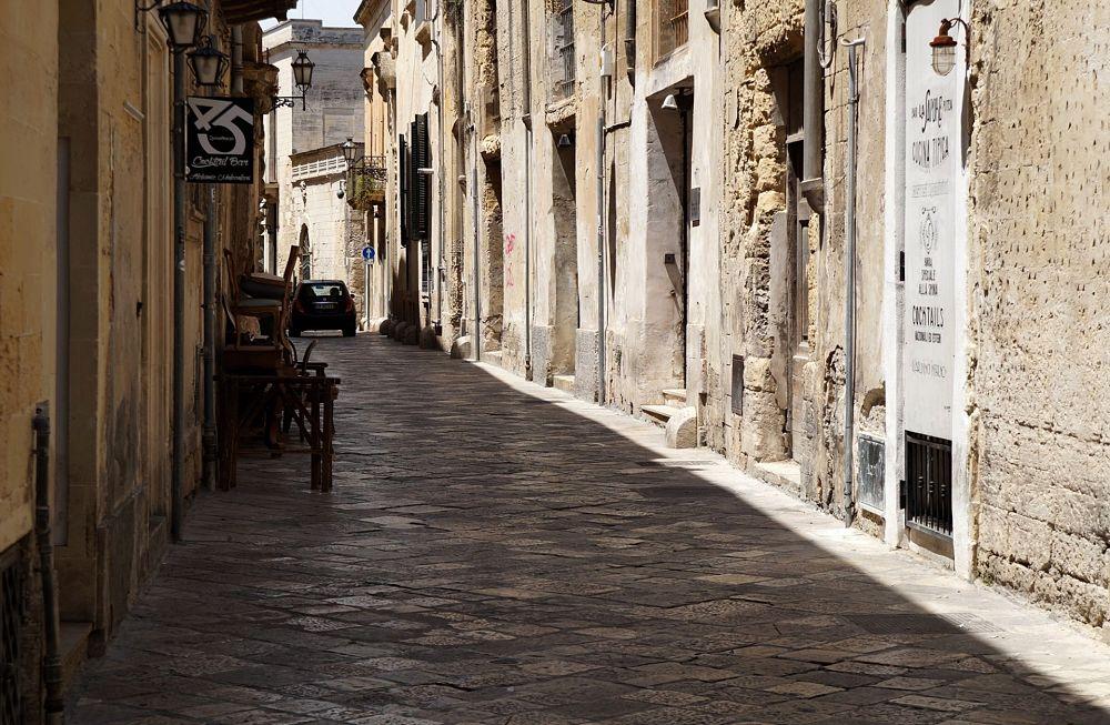 Via del centro storico di Lecce