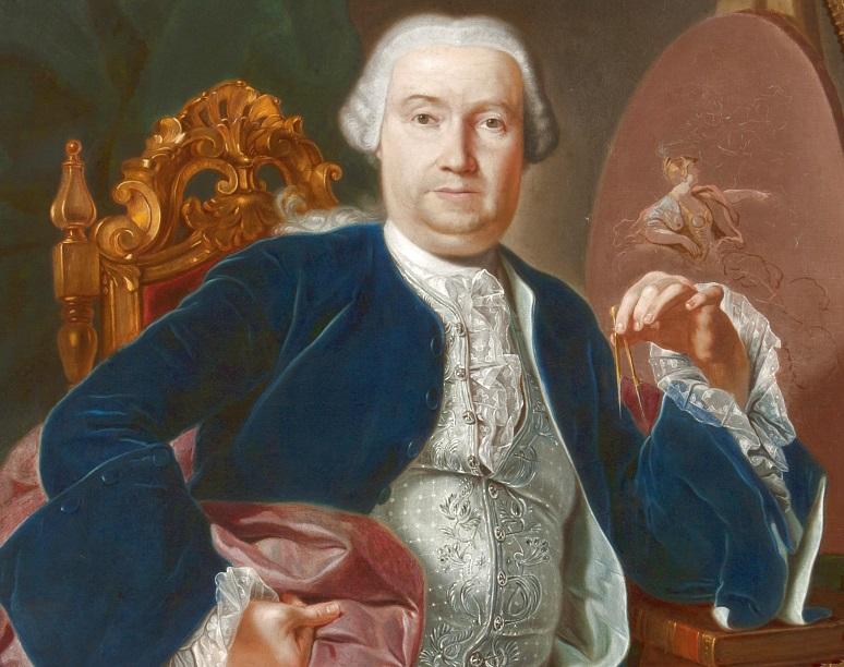 Giacinto Diano, Ritratto di Luigi Vanvitelli, XVIII secolo - Reggia di Caserta